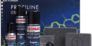 SONAX PROFILINE Ceramic Coating CC36 kestopinnoite ensiesittelyssä Autokorjaamo 2016 -messuilla