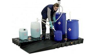 CEMO-tuotteilla vastuullista kemikaalien varastointia