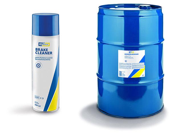 Cartechnic Brake Cleaner on nyt saatavilla sekä kätevässä suihkepullossa että riittoisassa 60 litran astiassa.