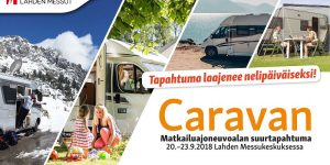 Kaha mukana Caravan 2018 -tapahtumassa torstaista sunnuntaihin!