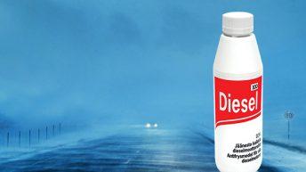 Diesel 100 ehkäisee polttoainejärjestelmän jäätymistä