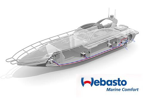 Webasto Marine BlueCool -ilmastointiuutuuksia