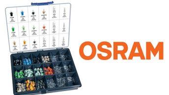 Kätevä OSRAM- mittariston polttimolajitelma
