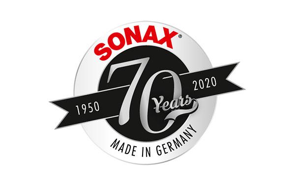 Tänä vuonna SONAX juhlistaa 70-vuotista taivaltaan