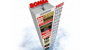 Best Brand -lukijaäänestykset jälleen SONAXin juhlaa
