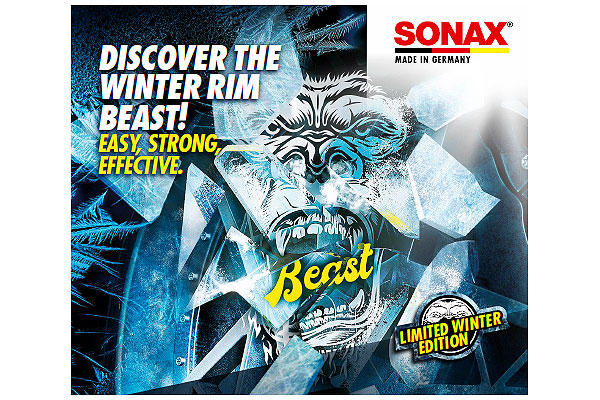 Jäätävä uutuus rengassesonkiin: SONAX Winter Beast!