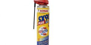 SONAX-monitoimiöljy puhdistaa, voitelee ja suojaa tehokkaasti
