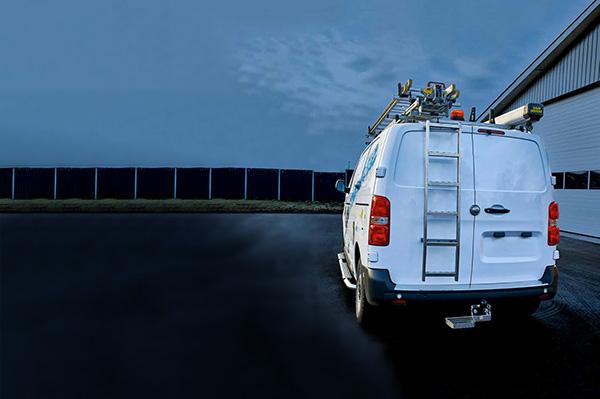 Laaja SmartVan-valikoima pakettiauton varusteluun