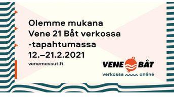 Vene 21 Båt -messut ovat nyt verkossa!