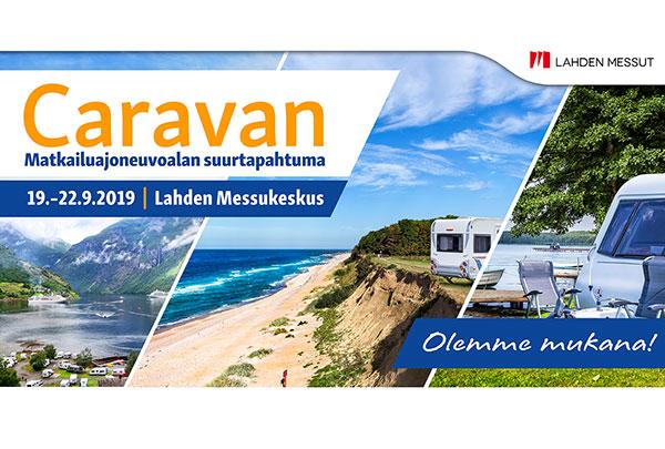 Caravan 2019 Lahden Messukeskuksessa 19.-22.9.2019