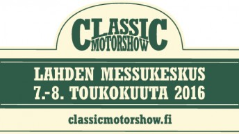 Classic Motorshow tulevana viikonloppuna Lahdessa