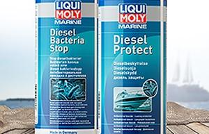Suojaa veneen dieselpolttoaine mikro-organismeilta