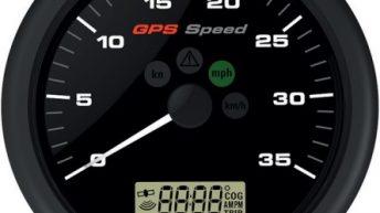 VDO Viewline GPS Speed -veneilijän elektroninen monitoimiloki