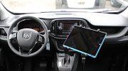 Tukeva laiteteline suojaa sekä älylaitetta että kuljettajaa